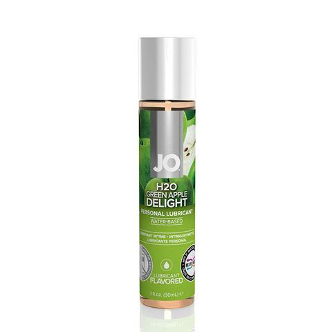JO H2O Flavored Green Apple, 30 ml Ароматизированный лубрикант Яблоко на водной основе