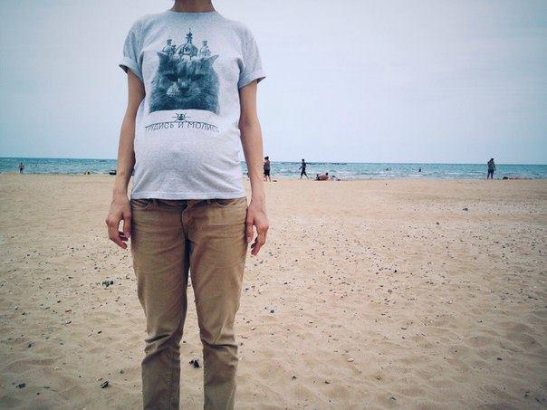 Трудись и молись / футболка