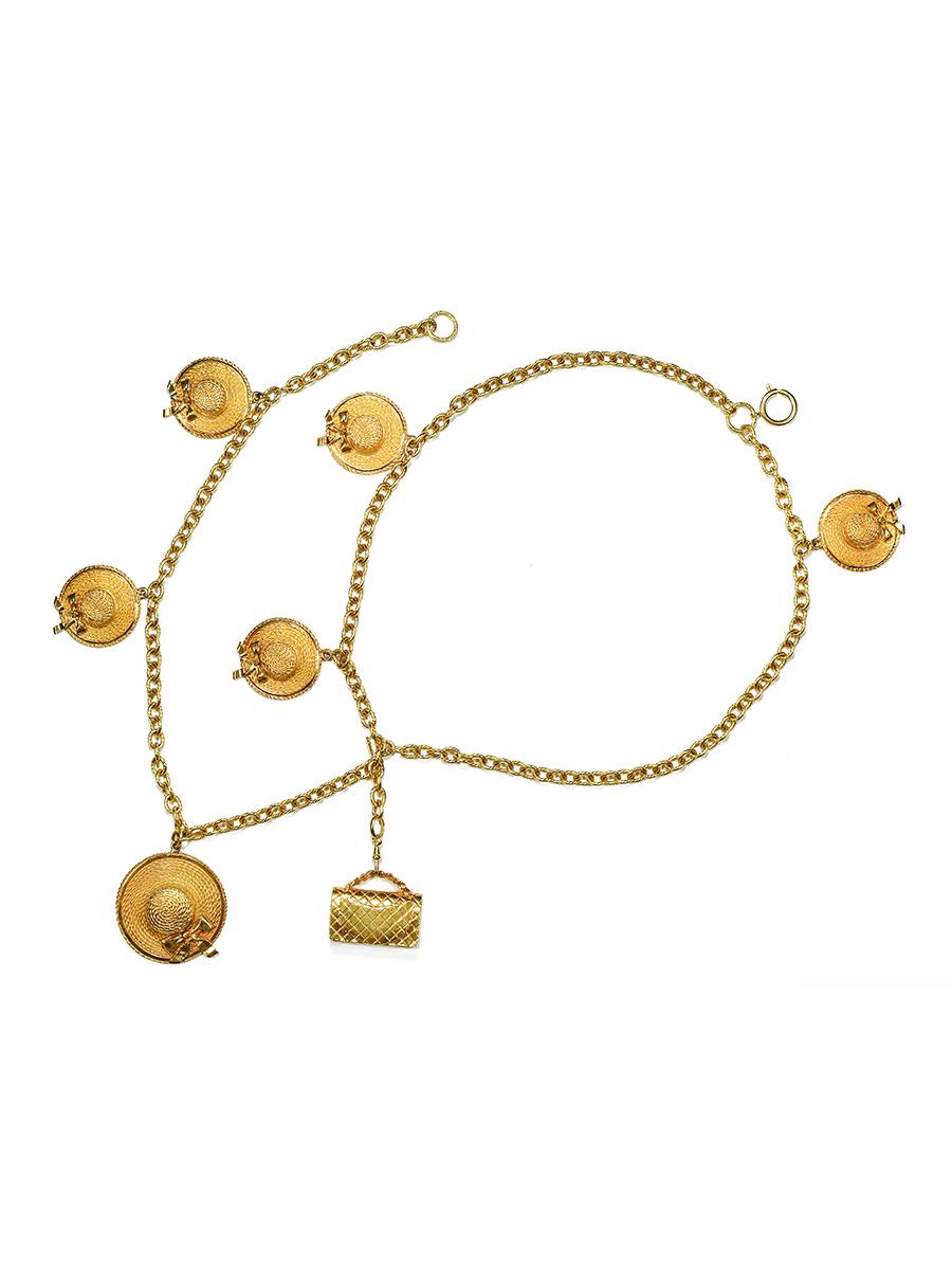 Колье-пояс Chanel с подвесами 1970-е /1980-е