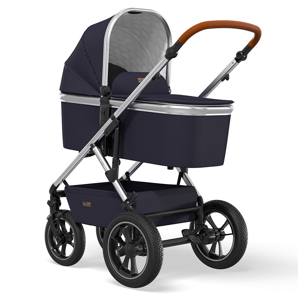 Moon Nuova 2 в 1 + Cybex Aton M i-Size Коляска Moon Nuova Air 2 в 1 Navy (303) 2021 + Cybex Aton M i-Size K21_NUOVA_AIR_63960550_Wanne_Navy_303_backleft.jpg