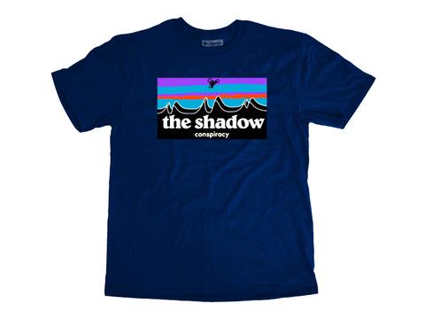 Футболка Shadow Out There синий