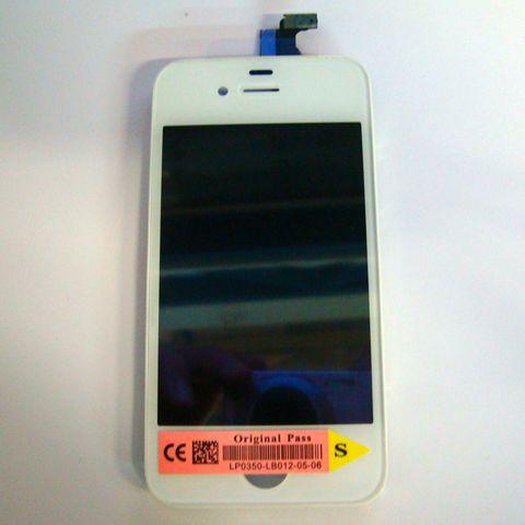 Дисплей iPhone 4/4S Дисплей с тачскрином (белый/черный)
