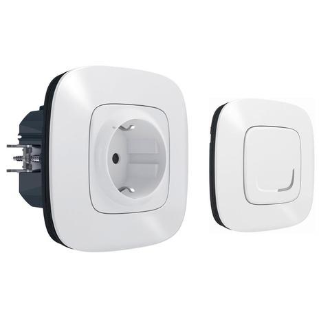 Дополнительный пакет управления бытовыми электроприборами. Цвет Белый. Valena Allure NETATMO. 752554