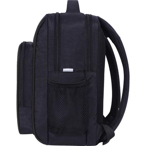 Рюкзак школьный Bagland Школьник 8 л. черный 908 (0012870)