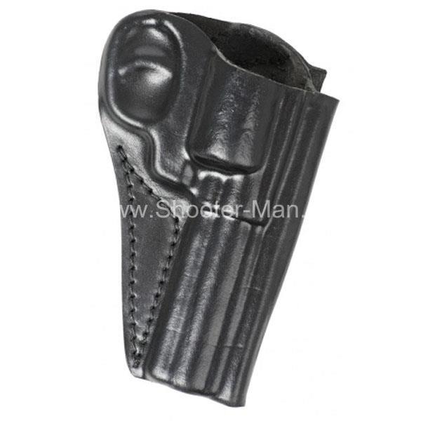 Кобура кожаная для револьвера Гроза Р-04 ( модель № 7 ) Стич Профи