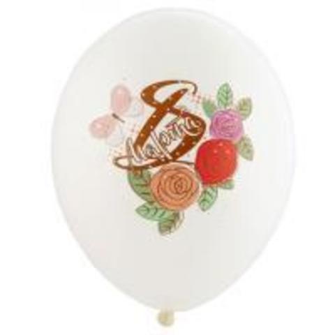 Воздушные шары 8 марта Розы