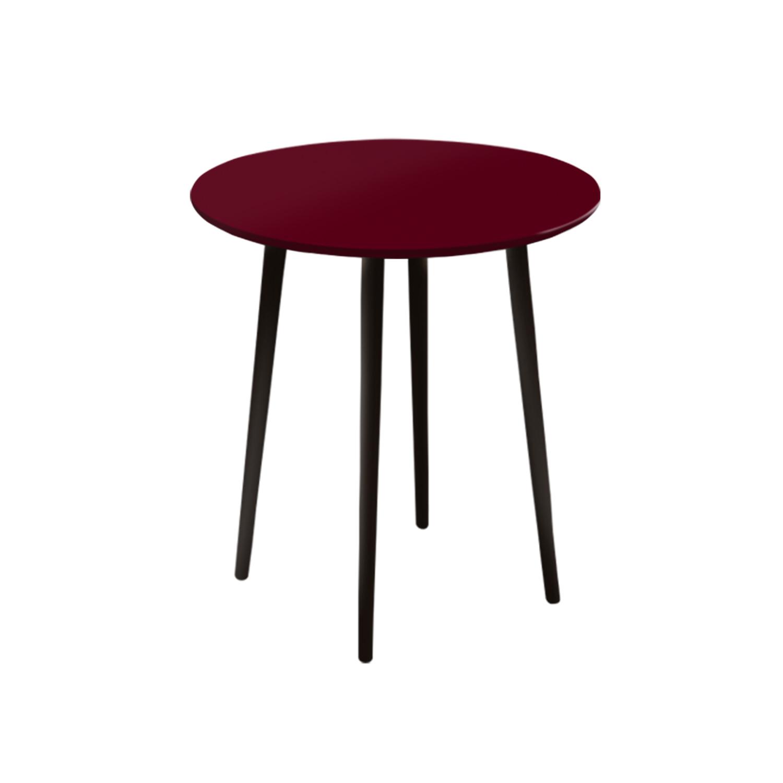 Маленький обеденный стол Спутник 70 см - вид 4