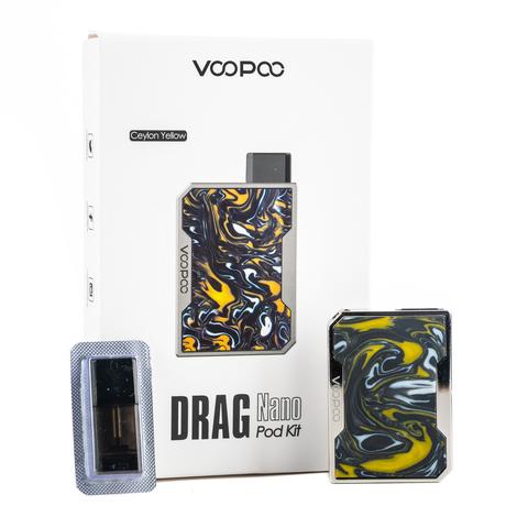 Набор VOOPOO Drag Nano 750mAh Pod Kit VP-029A Ceylon Yellow