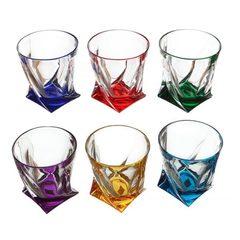Набор из 6 цветных стаканов для виски Gradient, фото 5