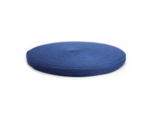 Лента киперная, 1см,синяя
