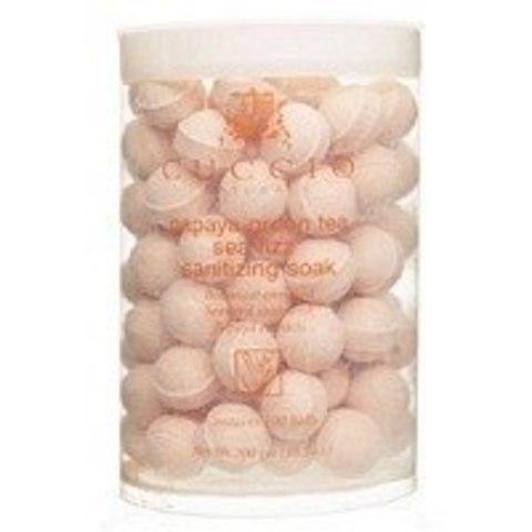 Антисептические шарики экстракта папайи и зеленого чая уп.100 шт