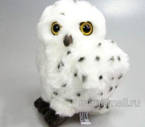 Мягкая игрушка Полярная сова 20 см (Leosco)