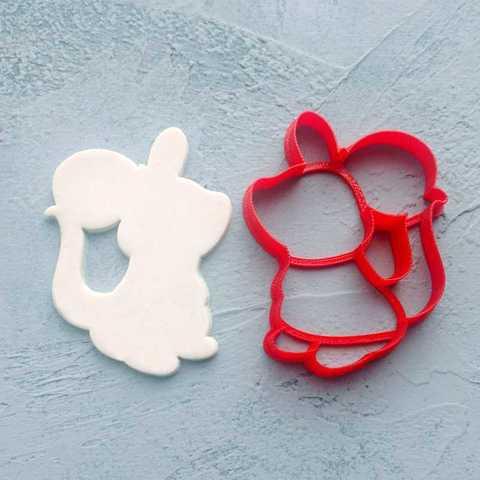 Мышка №6 форма для пряника