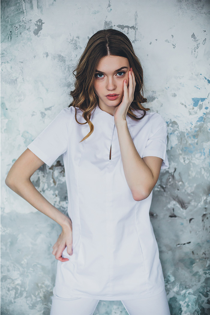 Блуза женская медицинская М 280