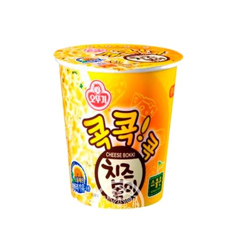 Лапша б/п OTTOGI Cheese Bokki со вкусом сыра спагетти 55г OTTOGI Южная Корея