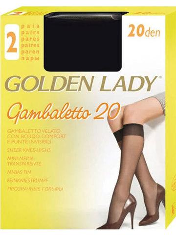 Женские гольфы Gambaletto 20 (2 пары) Golden Lady