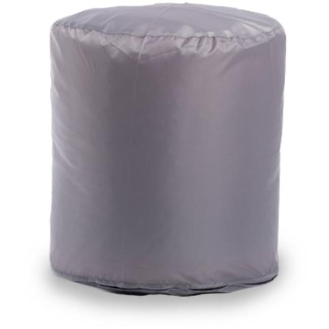 Пуфик «Цилиндр» Серый