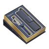 Набор подарочный Waterman Expert - Deluxe Obsession Blue CT, перьевая ручка, F + чехол
