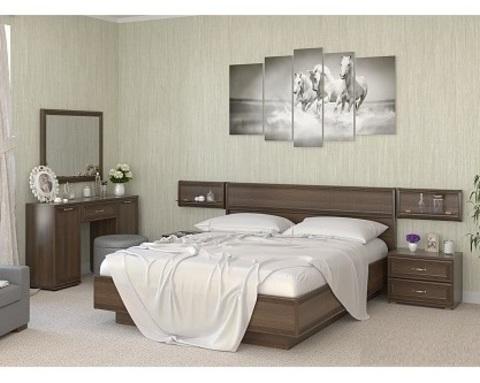 Спальня модульная КАРИНА-2 акация молдау