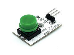 Модуль кнопки (зеленый)