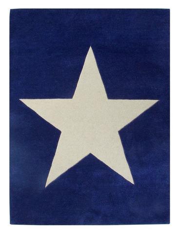 Ковер Lorena Canals Wool Star Navy (140 х 200)