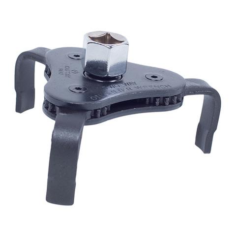 Съемник масляных фильтров, 63-102 мм, 3-х захватный KING TONY 9AE42