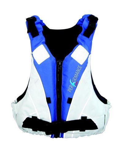 Жилет страховочный детский Performance Buoyancy 25-40 кг, бело-синий