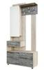 Визит-1 (SV-Мебель) Вешалка комбинированная с зеркалом