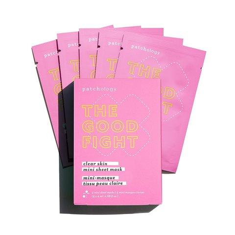 Patchology Пластырь для проблемной кожи The Good Fight Blemish-Preventing Mini Sheet Masks