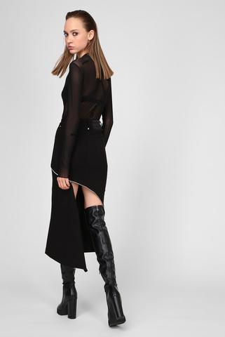 Женская черная юбка O-CROSS Diesel