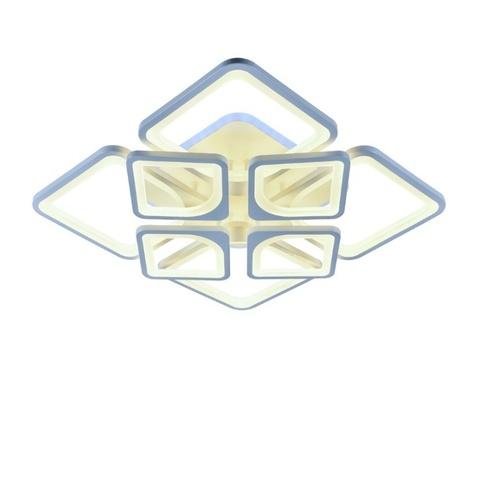 Потолочная светодиодная люстра MX-10005/4+4-184+12 WH(RGB)