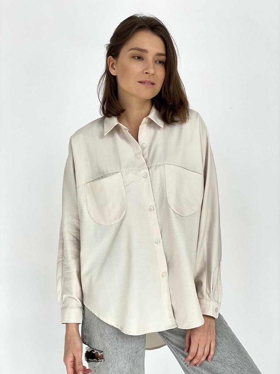 Рубашка, Ballerina, 5841 (молочный)