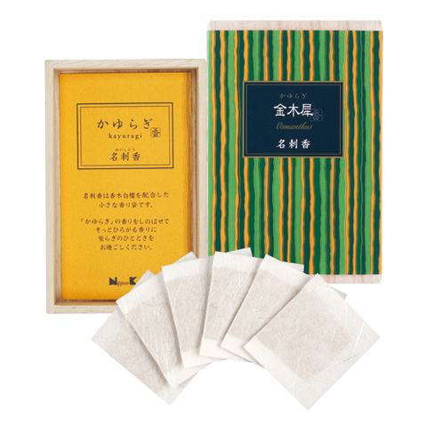 Японские благовония KAY Osmanthus visit card box