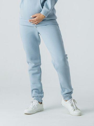 Штаны для беременных с эластичным поясом утепленные