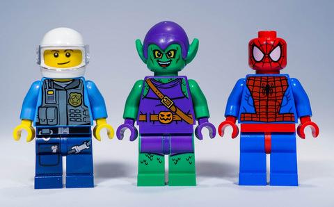 LEGO Juniors: Убежище Человека-паука 10687 — Spider-Man Hideout — Лего Джуниорс Подростки
