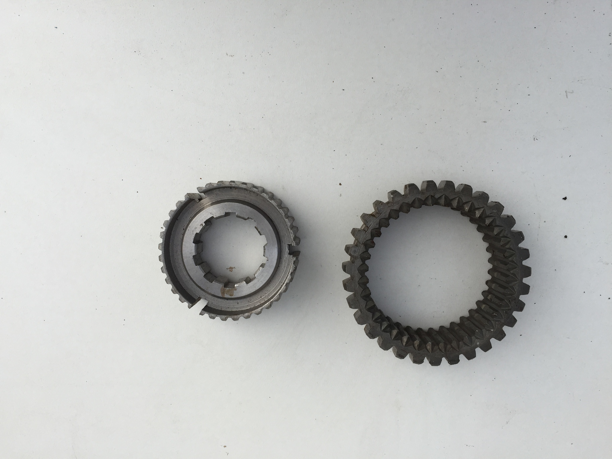 Муфта синхронизатора 1 и 2 передач со ступицей (комплект) 4 ст. КПП