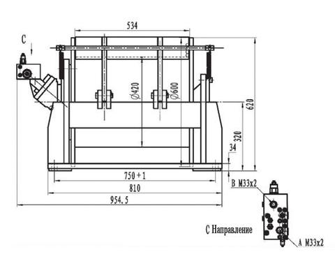 Стандартная лебедка IYJ344-80-117-20-ZPG