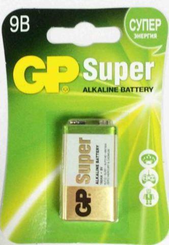 Элемент питания GP 6LF22 Super Alkaline BL-1/10