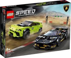 Lego konstruktor Speed Lamborghini Urus ST-X & Lamborghini Huracán Super Trofeo EVO