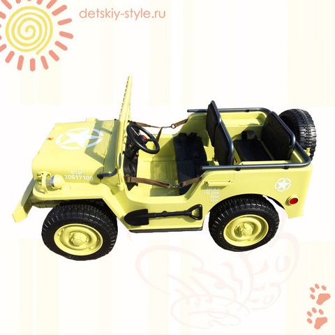 Jeep Willys YKE 4137 4WD