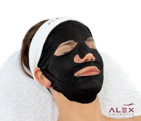 Угольная детокс лифтинг маска - Alex The Black Mask