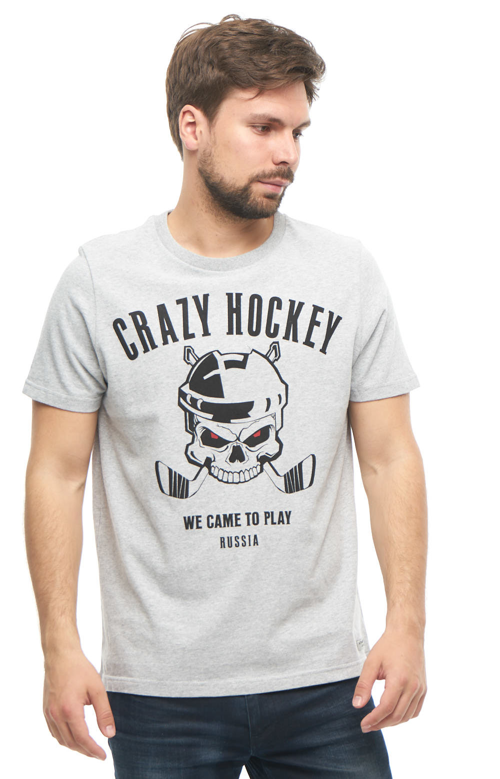 Футболка Crazy Hockey