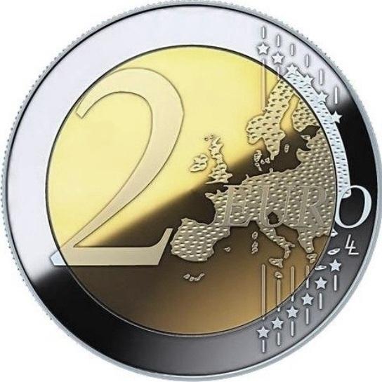 2 евро Мальта 2018 год