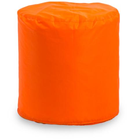 Пуфик «Цилиндр» Оранжевый