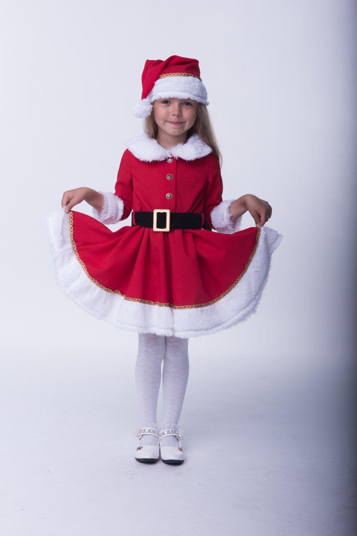 Костюм детский Мисс Санта