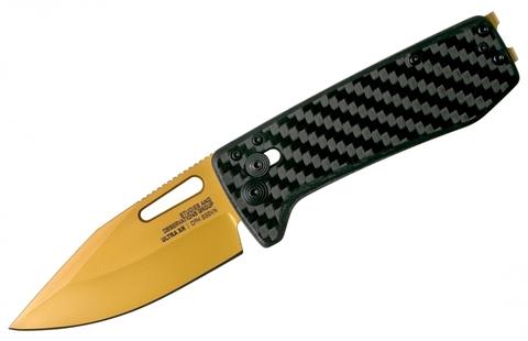Складной нож SOG 12-63-02-57 Ultra XR Carbon & Gold