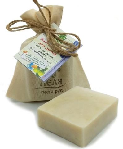 КАСТИЛЬСКОЕ мыло для детей оливковое, натуральное 80 г