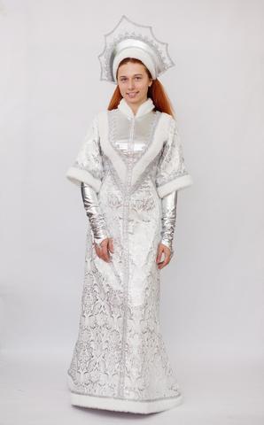 Карнавальный костюм взрослый Снегурочка