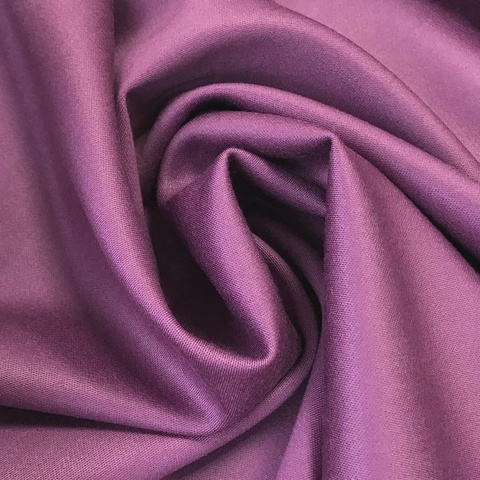Ткань костюмно-плательная ткань цвет фиалковый 3222