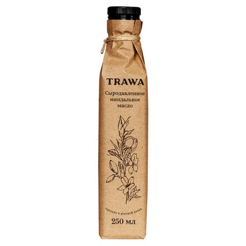 TRAWA, Масло сыродавленное миндальное, 250мл